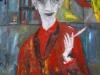 Madame Erika, 2013, Öl auf Leinwand, 90x120cm