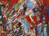 Sommer in Sevilla, 2012, Öl/Acryl auf Leinwand, 80x100cm