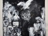 Ghetto Warschau 1943 - Ghetto Palästina 2009, Acryl auf Leinwand, 200x250cm