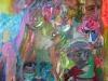 Der Flamencoengel I, Acryl auf Leinwand, 60x80cm, Privatbesitz
