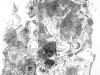 Ohne Titel XIX, Tusche auf Papier, 70x100cm