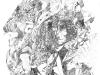 Ohne Titel XVIII, Tusche auf Papier, 70x100cm