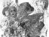 Ohne Titel XVII, Tusche auf Papier, 70x100cm