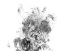 Ohne Titel XX, Tusche auf Papier, 70x100cm